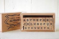 アルファベット スタンプセット