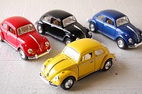 Pull Back Car Wagen Beetle