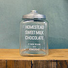 GLASS JAR MILK CHOCOLATE