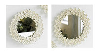 SHABBY FLORAL MIRROR