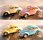 Pull Back Car Wagen Beetle Pastel Color