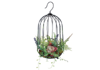 DECOR IMITATION GREEN CAGE