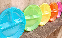 Colorful Plate 5P Set