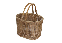 MERRY OVAL HANDLE BASKET